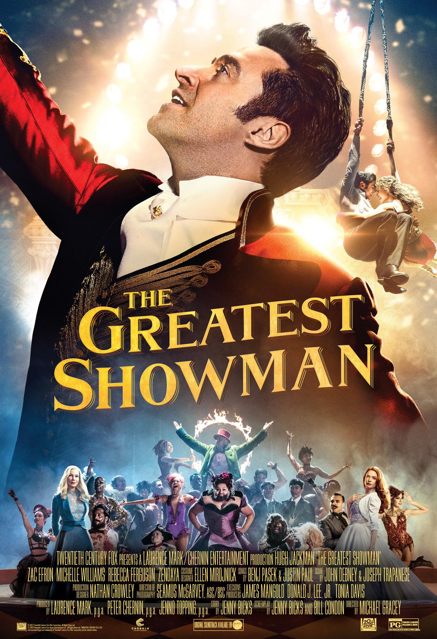 Muhteşem Showman – Tek Parça HD Kalite