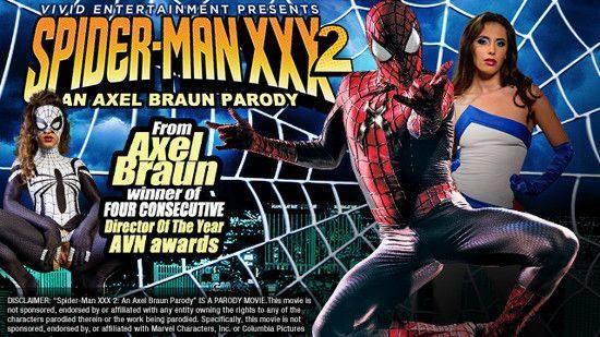Spider Man XXX 2 erotik +18 film izle
