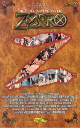 Zorro / Зорро (1996) erotik film izle