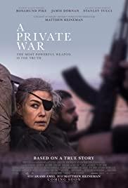 Özel Savaş / A Private Warhd film izle