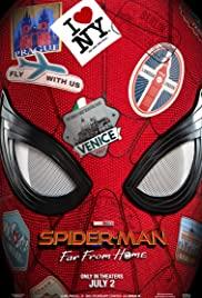 Örümcek Adam: Evden Uzakta / Spider Man Far from Home türkçe dublaj izle