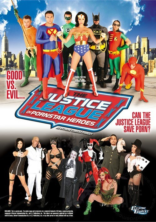 Justice League of Zornstar Heroes: An Extreme Comixxx Parody erotik izle